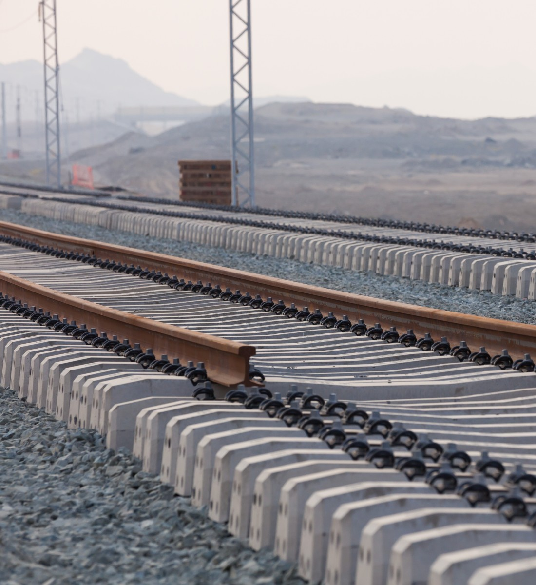 The train of the desert knowledge export